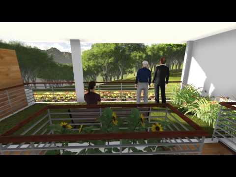 Fresno Parkview Model House Overlooking CDO River