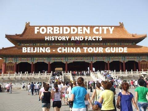 Forbidden City Tourist Attraction Beijing China Travel