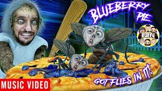 GRANNY'S BLUEBERRY PIE GOT FLIES IN IT!