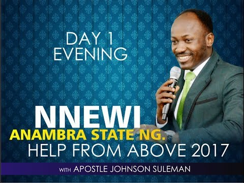 NNEWI - ANAMBRA STATE OUTREACH, LIVE BROADCAST WITH APOSTLE