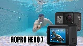 Under water with gopro hero 7