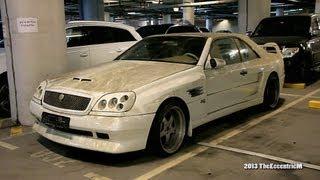 Rare Neglected 90's Koenig-Specials Mercedes-Benz CL-Class W140 in Dubai