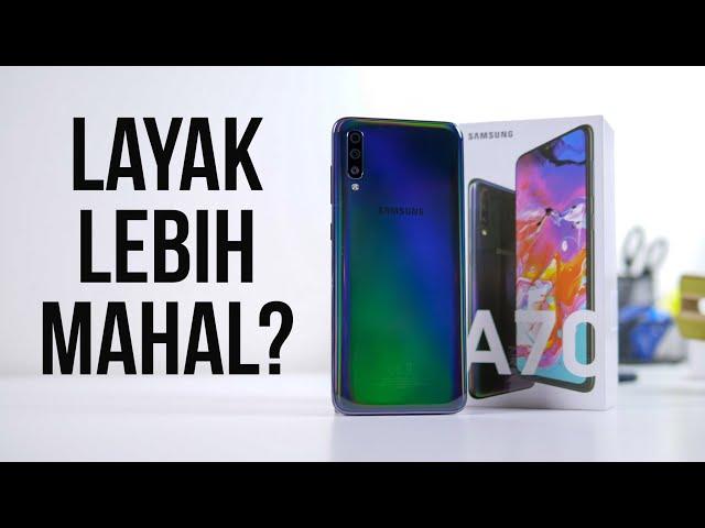 Alasan kenapa Samsung Galaxy A70 Layak Lebih Mahal dari A50