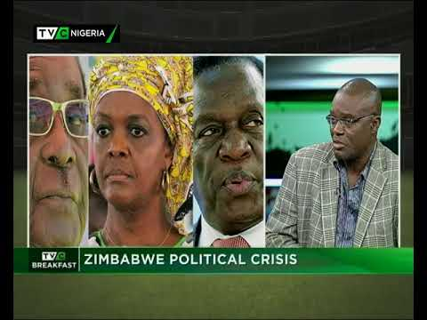 TVC Breakfast Nov. 16th | Zimbabwe political crisis