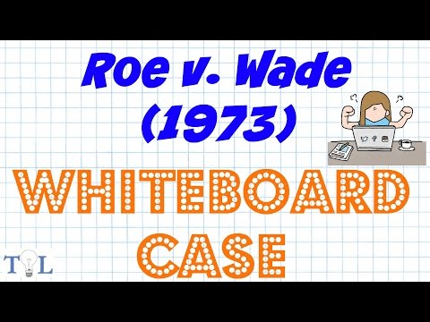 Roe v. Wade (Abortion) - Landmark Cases - Episode #11