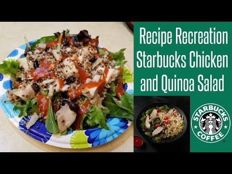 Recipe Recreation:  Starbucks Chicken Quinoa Salad