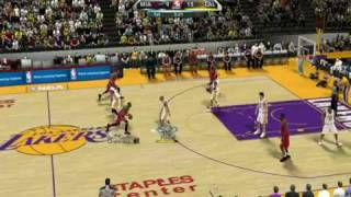 NBA 2K10 PC Gameplay - Lakers vs Heat