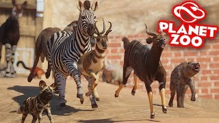 Planet Zoo: Battle Royale - All Animals! I Regret This...