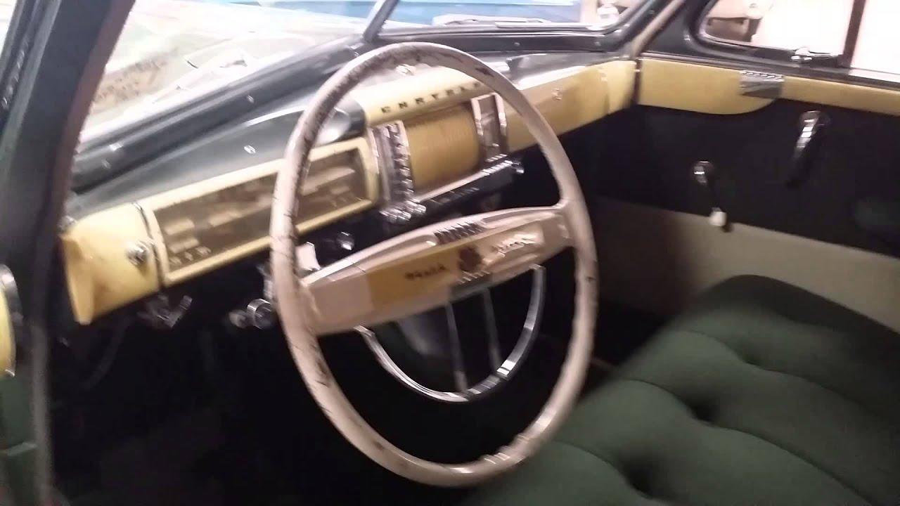 1941 Chrysler New Yorker Youtube 1942 Convertible