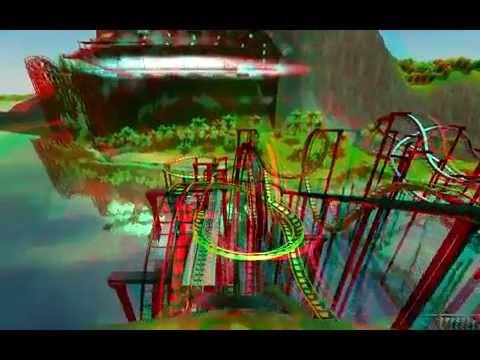 Roller Coaster 3D or 2D