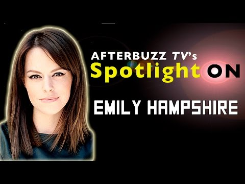 Emily Hampshire Interview | AfterBuzz TV's Spotlight On