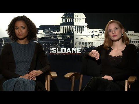 'Miss Sloane' Interview