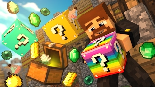 ЧТО НАХОДИТСЯ ВНУТРИ ЛАКИ БЛОКА? - MINECRAFT LUCKY BLOCKS