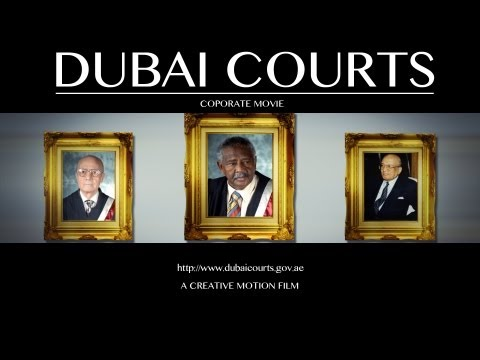 "Corporate video Production ""Dubai Courts"""