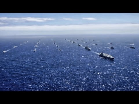 Massive Ship Formation • RIMPAC Show Of Force