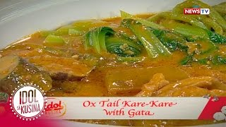 Idol sa Kusina: Ox Tail Kare-kare with Gata