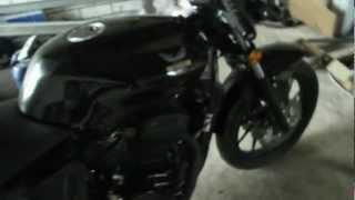 Запуск мотоцикла Desert Raven Nevada 250i