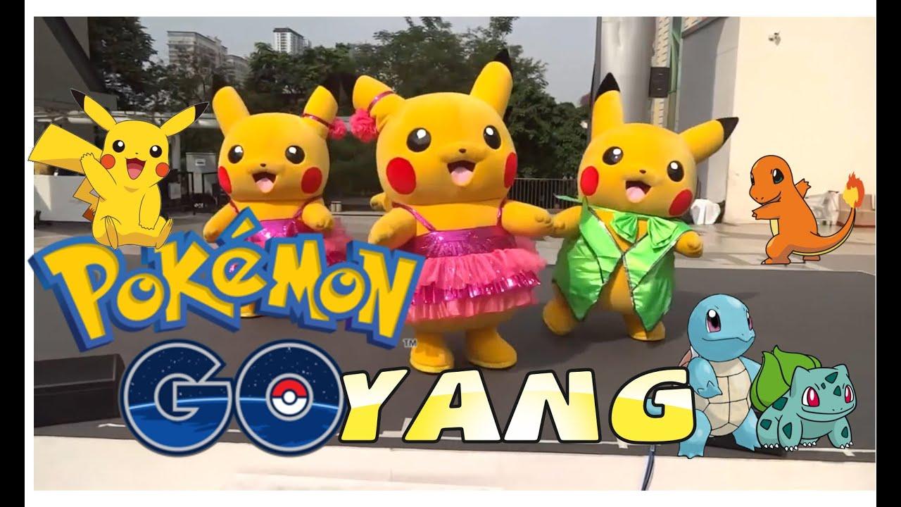 Goyang Pokemon Pikachu Dance Bikin Ketawa Ngakak Lucu Khanzahirah