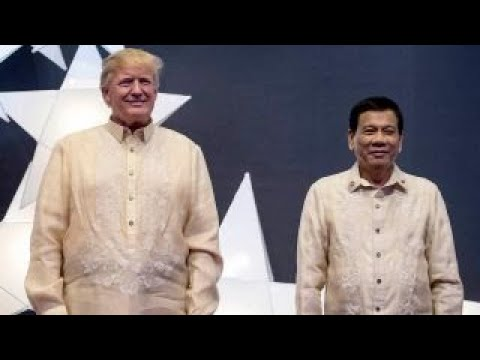 Trump, Duterte hold first formal sit-down