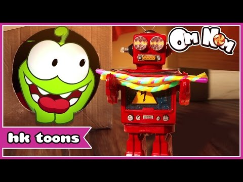 Om Nom Stories | Robo Friend | Cartoon for Children | HooplaKidz Toons