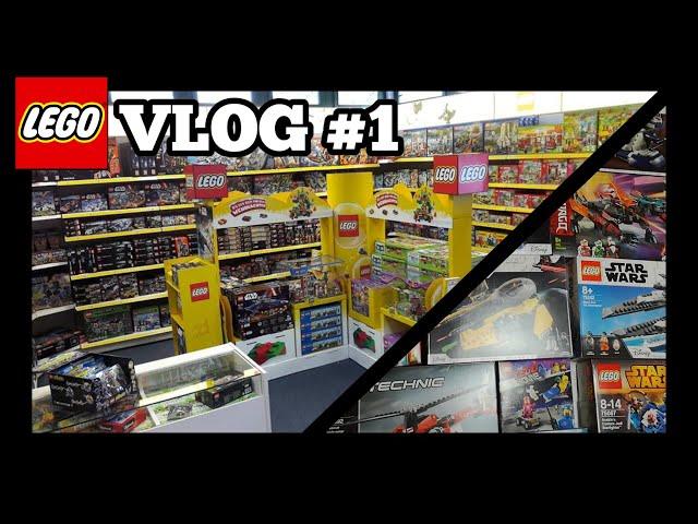 Einkaufen im Spielzeugladen, Leerkarton-Wand umbauen und vieles mehr! | LEGO Vlog #1