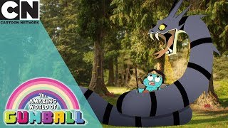 The Amazing World of Gumball | Gumball Plays Dungeons and Dragons | Cartoon Network UK