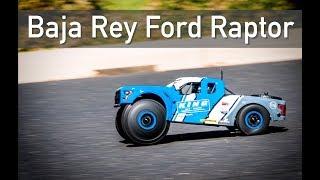 What's New: Losi Baja Rey Ford Raptor 1/10 4WD Desert Truck