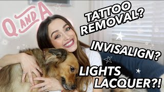 ANSWERING ALL YOUR BURNING QUESTIONS- CBD, TATTOOS + MORE!
