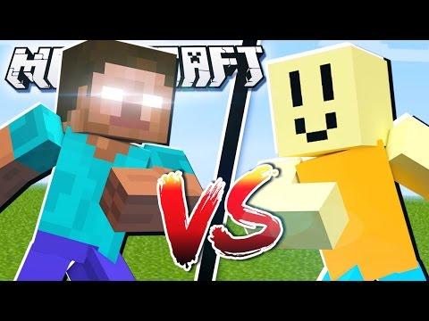 HEROBRINE VS JOHN DOE in Minecraft!