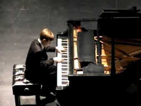 Sasha plays Berkovich Variations on a Theme by Paganini