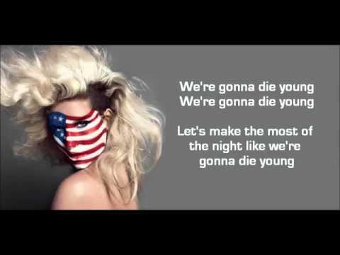 Ke$ha   Die Young LYRICS   YouTube