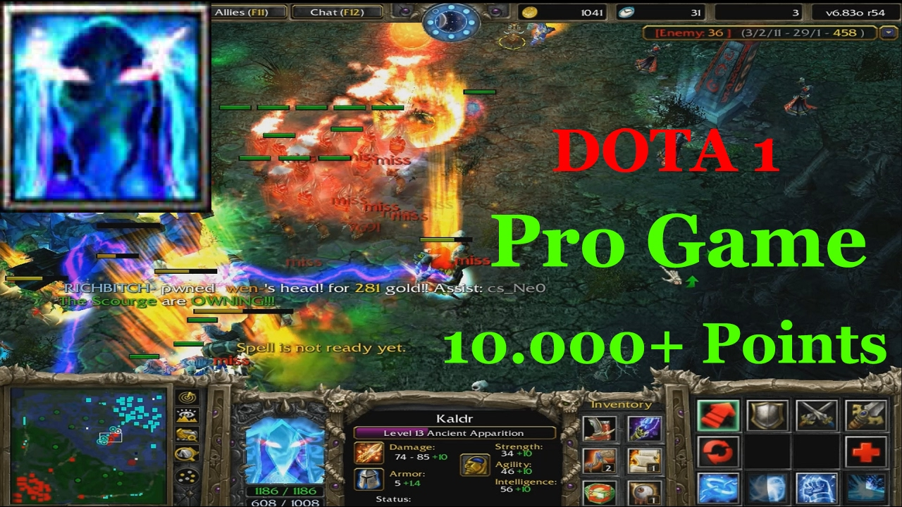 ancient apparition dota 1 pro game 10 000 points youtube