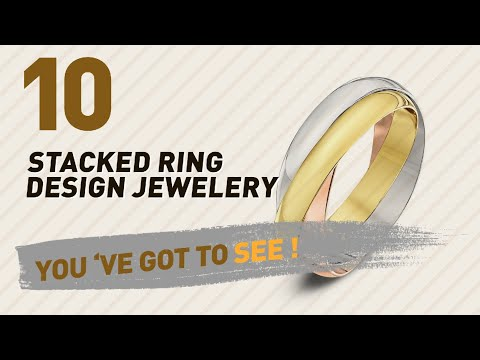 Stacked Ring Design Jewelery Collection For Women // UK New & Popular 2017
