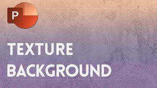 Fading Texture Background Slide Design in PowerPoint ✔