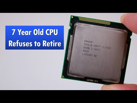 Is the i5-2400 still usable in 2018?