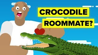 Insane Man Who Lived With A Crocodile (Emotional Animated Story)