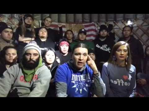 Live From Standing Rock (12/11/2016) Chase Iron Eyes & Water Protectors