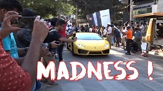 What happens in India when Millionaires bring their Lamborghini to a Car meet ? | #123