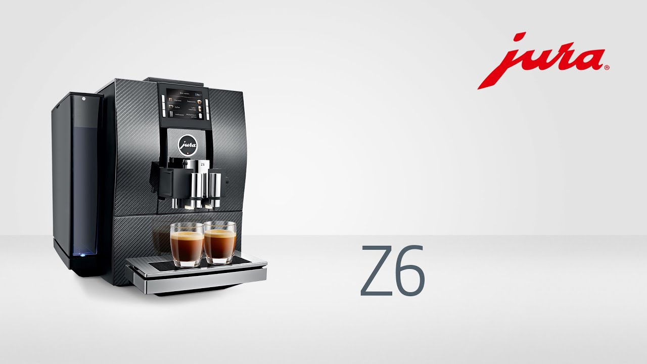 jura z6 carbon kaffeevollautomat fully automatic coffee machine youtube. Black Bedroom Furniture Sets. Home Design Ideas