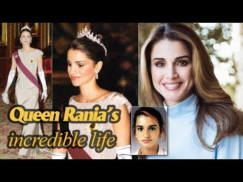 The incredible life of Queen Rania of Jordan - 'the most beautiful consort in the world'