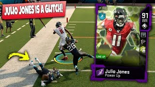 JULIO JONES ONE HANDED CATCH MAKES HIM QUIT! MADDEN 20 ULTIMATE TEAM