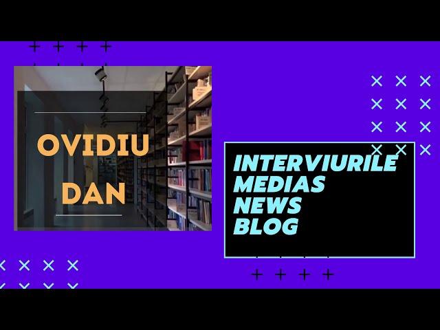 Promo:  Ovidiu Dan la Interviurile Medias News Blog