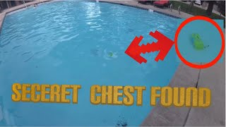 Fortnite Secret Chest Found in My Pool: LOOT LAKE CHALLENGE GAMES