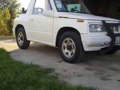 My 1992 Suzuki Vitara - YouTube