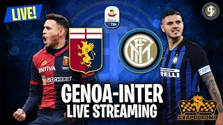 🔴 GENOA-INTER 0-4 ⚽ LIVE STREAMING ⚽ SERIE A - 03/04/19