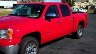 Henderson Chevrolet - 2010 GMC Sierra (Red)