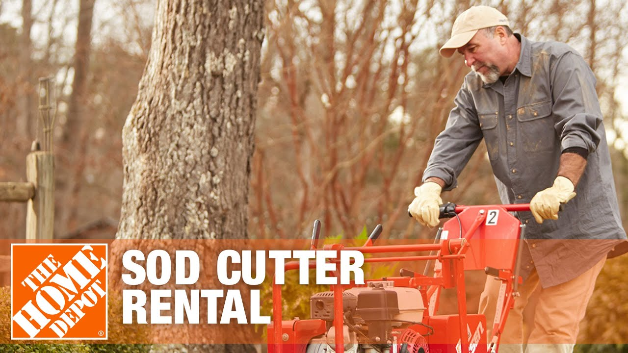 Classen sod cutter rental the home depot youtube - Renter s wallpaper home depot ...