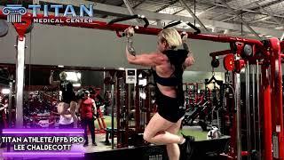 Titan Athlete & IFBB Pro Lee Chaldecott (w/bf Kevin Keyrouz) doing ...