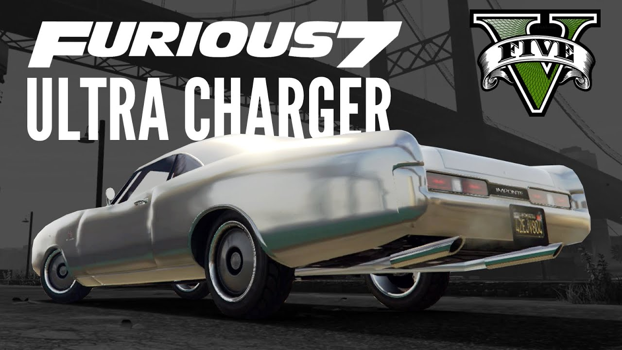 Imponte dukes furious 7 maximus ultra charger build gta 5 ps4 youtube