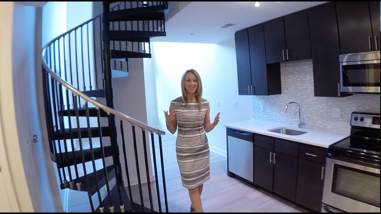 The Maxwell | One Bedroom LOFT Model Apartment Home | Arlington Apartments    YouTube
